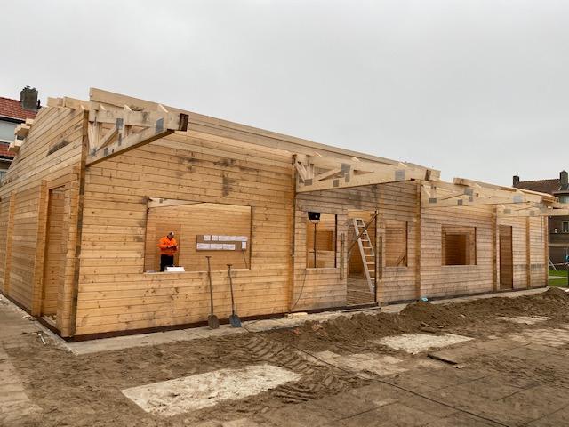 Nieuw clubgebouw in speeltuin Zuiderkwartier